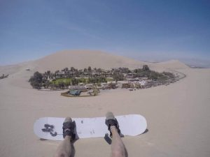 Насред пустинята